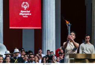Τελετή Αφής και Παράδοσης της Φλόγας της Ελπίδας / Περιστύλιο του Ζαππείου