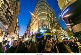 Η Forever 21 επιτέλους στην Ελλάδα! Σε μία ξεχωριστή εκδήλωση, η Forever 21 εγκαινίασε το πρώτο της κατάστημα στην Αθήνα