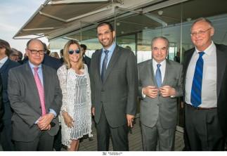 Γεύμα / δεξίωση που παρέθεσε στο Ναυτικό Όμιλο Ελλάδος, ο Πρόεδρος της Capital Partners AE και πρ. Υφυπουργός Οικονομικών κ. Πέτρος Δούκας προς τιμήν του Υπουργού Επικρατείας των Ηνωμένων Αραβικών Εμιράτων και Προέδρου του ΔΣ της ABU DHABI NATIONAL OIL COMPANY His Excellency, Dr. Sultan Ahmed Al Jaber