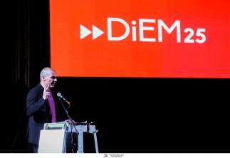 Επιτυχημένη η παρουσίαση του DiEM25 στην Αθήνα