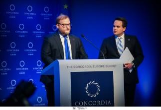 Φωτογραφικά στιγμιότυπα από την έναρξη του CONCORDIA EUROPE SUMMIT που πραγματοποιείται στην Αθήνα