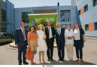 Η «ΕΛΠΙΔΑ» τιμά τον κύριο George Stamas, Πρόεδρο του «Τhe Hellenic Initiative»