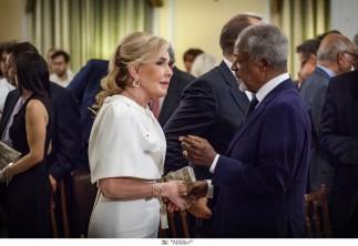 ΠΡΟΕΔΡΙΚΟ ΜΕΓΑΡΟ-ΟΜΙΛΙΑ Kofi Annan