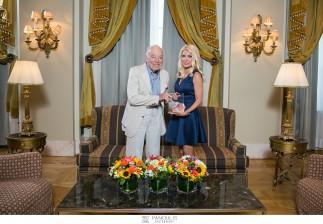 O Leonard Lauder, Επίτιμος Πρόεδρος των Estee Lauder Companies στην Αθήνα!