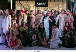 Με ένα cocktail party και ένα εντυπωσιακό fashion show, άνοιξε το πρώτο στην Ελλάδα κατάστημα TWINSET, στο Golden Hall!