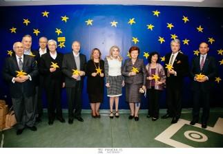 Οι επικεφαλής του Nijami Ganjavi International Center και  διακεκριμένες προσωπικότητες που συμμετείχαν στη Διεθνή Συνάντηση «Οι ανθρωπιστικές προκλήσεις και η Ευρω-Μεσογειακή Συμμαχία» επισκέφτηκαν την Ογκολογική Μονάδα Παίδων και τιμήθηκαν από τον Σύλλογο «ΕΛΠΙΔΑ»