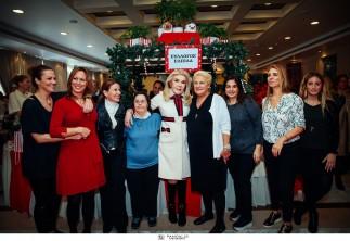 Αθρόα και φέτος η προσέλευση των φίλων της «ΕΛΠΙΔΑΣ»στο Χριστουγεννιάτικο Bazaar του Συλλόγου