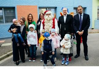 Ο Άγιος Βασίλης από το Ροβανιέμι στην Ογκολογική Μονάδα Παίδων / ΣΥΛΛΟΓΟΣ ΕΛΠΙΔΑ
