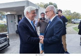Επίσκεψη Α.Ε. ΠτΔ, κ. Προκόπη Παυλόπουλου στις βιοκλιματικές εγκαταστάσεις της APIVITA