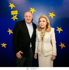 Επίσκεψη του Προέδρου της Γεωργίας κυρίου Giorgi Μargvelashvili στην Ογκολογική Μονάδα Παίδων «Μαριάννα Β. Βαρδινογιάννη – ΕΛΠΙΔΑ»