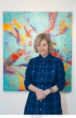 Με μεγάλη επιτυχία πραγματοποιήθηκαν τα εγκαίνια της ατομικής έκθεσης ζωγραφικής της Μαριάννας Βερέμη στο Ίδρυμα Εικαστικών Τεχνών Τσιχριτζή