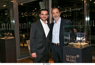 Montblanc Black and White Night // event @ Galaxy Hilton