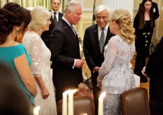 Ο πρίγκιπας Κάρολος της Ουαλίας και η δούκισσα της Κορνουάλης Καμίλα πρώτη φορά επίσημα στην Ελλάδα - Φωτογραφίες από το Προεδρικό Μέγαρο