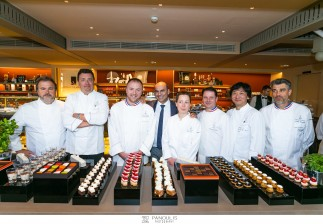 RELAIS DESSERTS Το Ξενοδοχείο Μεγάλη Βρεταννία και το GB Corner Gifts & Flavors είχαν την τιμή να φιλοξενήσουν την συνάντηση των 7 κορυφαίων Pastry Chefs από το Παρίσι