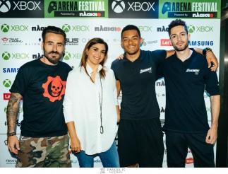 Περισσότεροι από 8.000 gamers έζησαν την εμπειρία του Xbox Arena Festival powered by Πλαίσιο στο Gazi Music Hall!