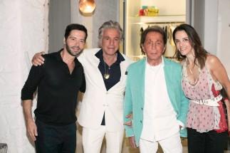 Ο Valentino και ο Giancarlo Giammetti οργάνωσαν party έκπληξη για τη Charlene Shorto στο Island Athens Riviera