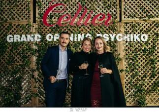 Λαμπερά εγκαίνια για το Cellier στο Ψυχικό!