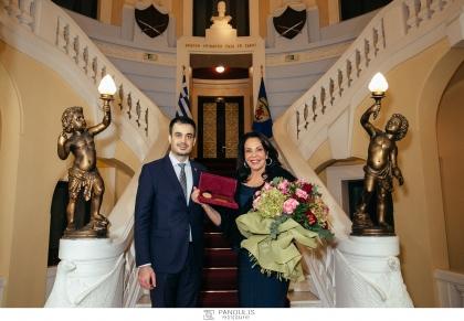 Επετειακή εκδήλωση 10 χρόνων ΕΟΠΕ και βραβεύσεις - Χρυσό Μετάλλιο ΕΟΠΕ Διακεκριμένης Προσωπικότητας