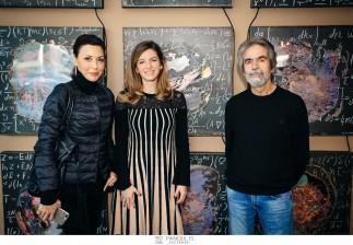"""Στο showroom Αβαξ της Κηφισιάς, η Λίζα Κόμη (ΑΒΑΞ) σε συνεργασία με τον Σοφοκλή Εμμανουηλίδη (STUDIO IPSO) φιλοξένησαν με μεγάλη επιτυχία ένα event """"Art & Design"""""""