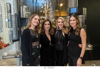 Ileana Makri – Christmas Trunk Show – Παρουσίαση των σειρών Venyx by Eugenie Niarchos και Marianna Goulandris