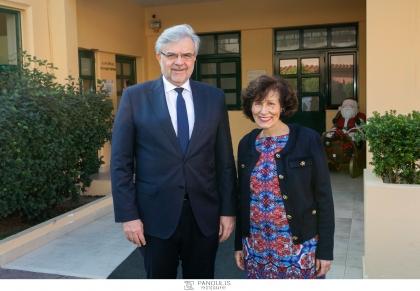 Το Κέντρο της  ΕΛΕΠΑΠ στην Αθήνα,  επισκέφτηκαν ο κος Χρήστος Μεγάλου, Διευθύνων Σύμβουλος της Τράπεζας Πειραιώς, μαζί με εκπροσώπους Διευθύνσεων της Τράπεζας, Μεγάλος Ευεργέτης της ΕΛΕΠΑΠ