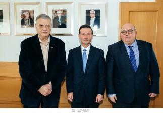 Στην Ελλάδα ο Dr. George Sigounas, προσκεκλημένος από το Ίδρυμα Ιατροβιολογικών Ερευνών της Ακαδημίας Αθηνών
