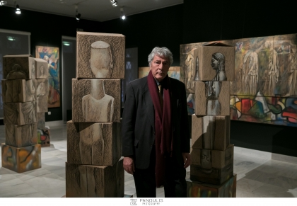 ΠΑΥΛΟΣ ΣΑΜΙΟΣ - Εγκαίνια έκθεσης στο Βυζαντινό και Χριστιανικό Μουσείο