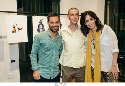 Tο Project {Just/αrt}* φιλοξενεί τους νέους καλλιτέχνες Παναγιώτη Τζαννετάκη και Λεώνη Γιαγδζόγλου