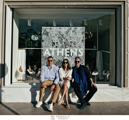 Τα εγκαίνια του πρώτου Flagship Store των Ancient Greek Sandals στην Αθήνα