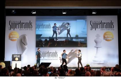 Η Βράβευση των Κορυφαίων Εταιρικών Επωνυμιών (Superbrands) για 6η φορά στην Ελλάδα - ΜΕΓΑΡΟ ΜΟΥΣΙΚΗΣ ΑΘΗΝΩΝ