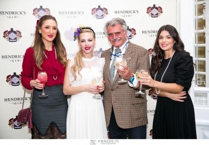 Το πιο ασυνήθιστο gin, το Hendrick's, ο μεγάλος χορηγός του 6ου Tweed Run που διοργανώθηκε στις Σπέτσες