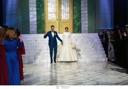 Αναστασία Καίσαρη και Thomas Persy. Υπέρλαμπρος γάμος και φαντασμαγορική δεξίωση