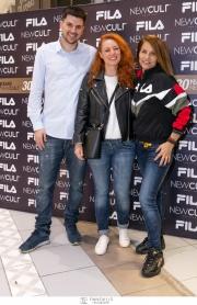 To εορταστικό party της FILA στο κατάστημα New Cult στη Γλυφάδα