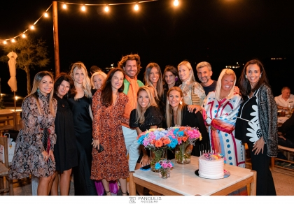 Η γνωστη influencer Χρυσιάννα Ανδριοπούλου γιόρτασε με λίγους και εκλεκτούς φίλους τα γενέθλια της!