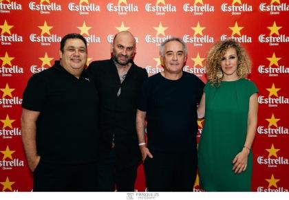 Ο Αλχημιστής της γαστρονομίας, Ferran Adrià, βρέθηκε στην Ελλάδα για το Estrella Damm Gastronomy Congress - Ο πιο βραβευμένος chef στον κόσμο εγκαινίασε, και στη χώρα μας, το θεσμό του Estrella Damm Gastronomy Congress, με μια εντυπωσιακή παρουσίαση στη Στέγη του Ιδρύματος Ωνάση