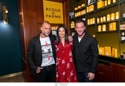 Η Acqua di Parma παρουσίασε την ολοκληρωμένη εμπειρία του αυθεντικού ιταλικού τελετουργικού του ξυρίσματος στο Don Barber & Groom