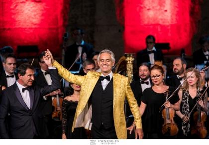 Andrea Bocelli στο Ηρώδειο για το International Foundation for Greece (IFG)