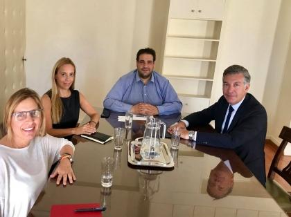 Το δημογραφικό στο επίκεντρο της συνάντησης του υφυπουργού Εσωτερικών Θ. Λιβάνιου με την HOPEgenesis