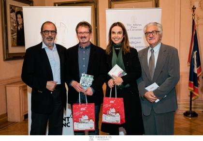ATHENS PRICE FOR LITERATURE 2019. Για 11η χρονιά, το περιοδικό «Δέκατα» σε συνεργασία με την Montblanc, διοργάνωσε την τελετή βράβευσης του καλύτερου ελληνικού και ξένου μεταφρασμένου μυθιστορήματος του 2018