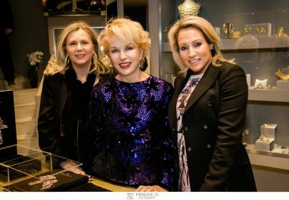 A Jewel Made in Greece. Η λαμπερή παρουσίαση της νέας συλλογής κοσμημάτων της κορυφαίας σχεδιάστριας Maureen Wellens