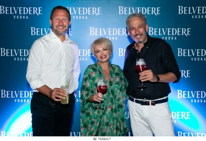 BELVEDERE MADE WITH NATURE SUNSET COCKTAIL PARTY