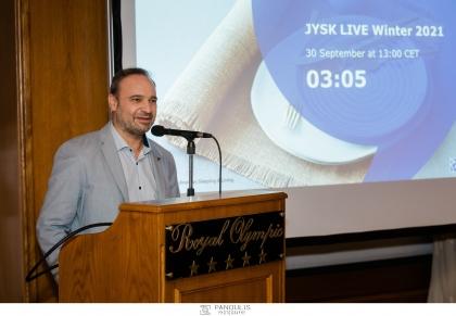 Η JYSK παρουσίασε τη νέα χειμερινή της συλλογή με ένα online event από την Κοπεγχάγη